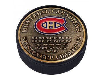 Puk Montreal Canadiens Stanley Cup Champions Medallion Collection