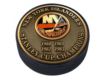 Puk New York Islanders Stanley Cup Champions Medallion Collection