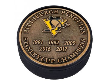 Puk Pittsburgh Penguins Stanley Cup Champions Medallion Collection