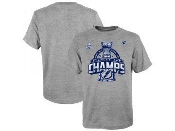 Dětské tričko Tampa Bay Lightning 2021 Stanley Cup Champions Locker Room