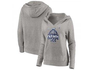 Dámská mikina Tampa Bay Lightning 2021 Stanley Cup Champions Locker Room