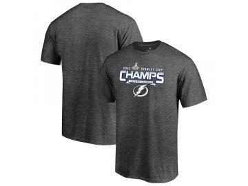 Pánské tričko Tampa Bay Lightning 2021 Stanley Cup Champions Snow Shower