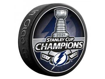 Puk Tampa Bay Lightning 2021 Stanley Cup Champions Logo Hockey Puck