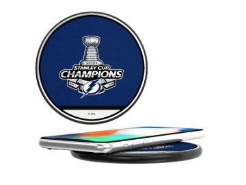Bezdrátová nabíječka na mobil Tampa Bay Lightning 2021 Stanley Cup Champions Wireless Charger