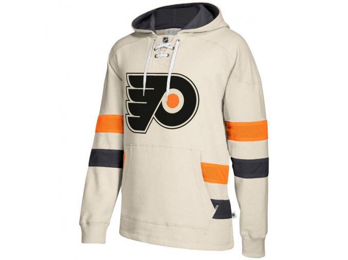 Mikina Philadelphia Flyers 2017 CCM Jersey Pullover Hoodie White