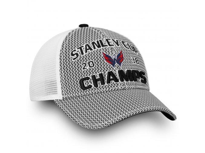 Kšiltovka Washington Capitals 2018 Stanley Cup Champions Locker Room Trucker