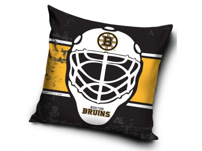 Polštářek Boston Bruins NHL Maska