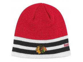 Čepice - Stanley Cup Reebok Cufless Knit -chicago blackhawks
