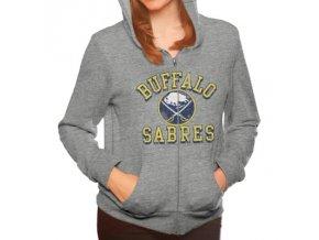 Dámská mikina Buffalo Sabres Tri-Blend Full Zip