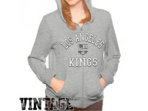 Dámská mikina Los Angeles Kings Tri-Blend Full Zip