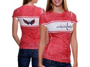Dámské tričko - Big Stripe - Washington Capitals