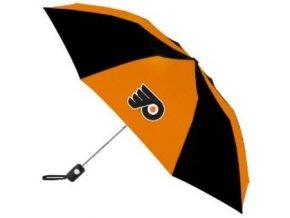 Deštník -Philadelphia flyers - vysouvací