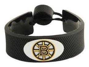 Gumový náramek - Boston Bruins- černý