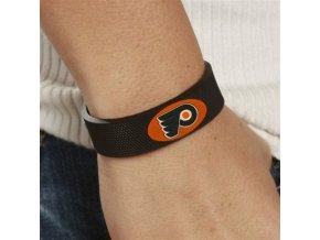 Gumový náramek - Philadelphia Flyers