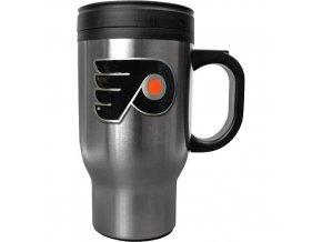 Hrnek - Stainless Steel Travel - Philadelphia Flyers