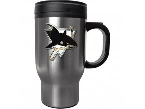 Hrnek - Stainless Steel Travel - San Jose Sharks