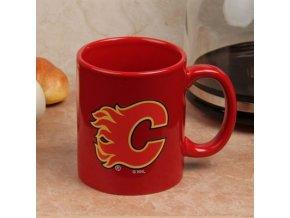 Hrnek Calgary Flames C-Handle - červený