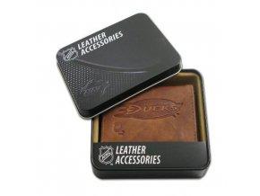 Kožená peněženka Anaheim Ducks Embossed Trifold