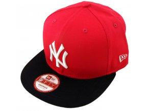 Kšiltovka - 9FIFTY Yankees snapback - red MLB