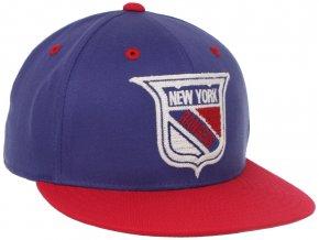 Kšiltovka - CCM Flat Visor Flex Fit -New York Rangers