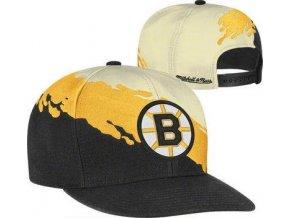 Kšiltovka - Cream Vintage Paintbrush - Boston Bruins