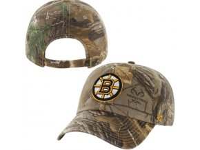 Kšiltovka Boston Bruins Realtree Camo