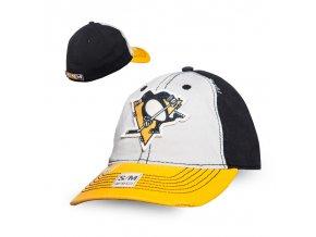 Kšiltovka Pittsburgh Penguins CCM Flex slouch
