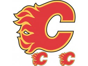 Logo na stěnu - Peel and Stick - Calgary Flames