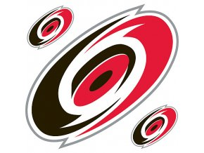 Logo na stěnu - Peel and Stick - Carolina Hurricanes