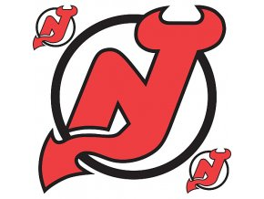 Logo na stěnu - Peel and Stick - New Jersey Devils