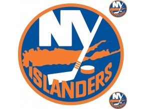 Logo na stěnu - Peel and Stick - New York Islanders