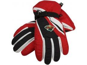 Lyžařské rukavice - Minnesota Wild