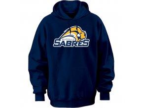 Mikina - Team Logo II. - Buffalo Sabres - modrá