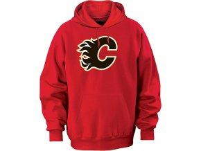 Mikina - Team Logo II. - Calgary Flames - červená