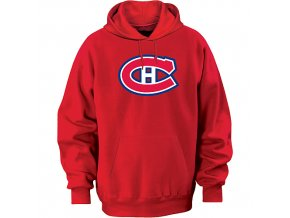 Mikina - Team Logo II. - Montreal Canadiens - červená