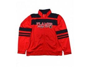Mikina Calgary Flames full zip athletic dámská