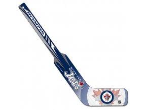 Mini hokejka - Goalie - Winnipeg Jets