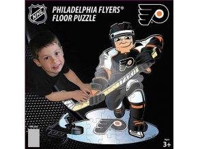 NHL dětské puzzle Philadelphia Flyers 30 dílků