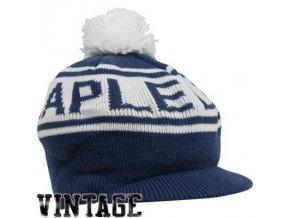 NHL kulich s kšiltem a bambulí  Toronto Maple Leafs vintage winter