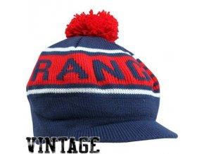 NHL kulich s kšiltem a bambulí New York Rangers vintage winter