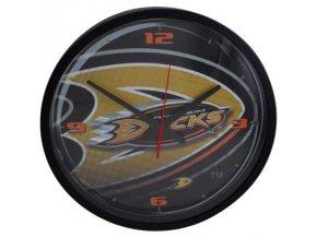 NHL nástěnné hodiny Anaheim Ducks Round Clock