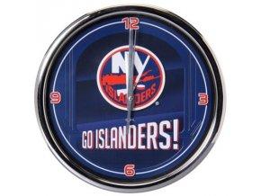 NHL nástěnné hodiny New York Islanders Chrome Wall