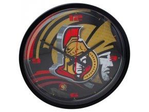 NHL nástěnné hodiny Ottawa Senators Round Clock