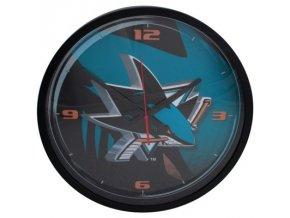 NHL nástěnné hodiny San Jose Sharks Round Clock