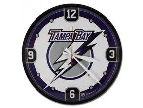 NHL nástěnné hodiny Tampa Bay Lightning Round Wall