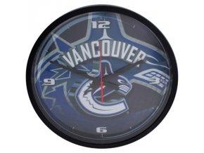 NHL nástěnné hodiny Vancouver Canucks Round Clock