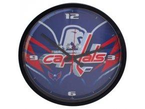 NHL nástěnné hodiny Washington Capitals Round Clock
