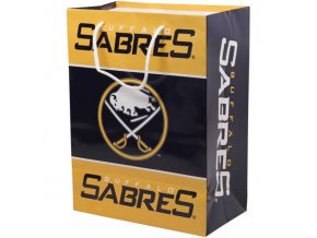NHL papírová nákupní taška Buffalo Sabres