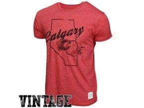 NHL tričko Calgary Flames Mock Twist