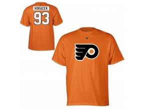 NHL tričko Jakub Voráček #93 Philadelphia Flyers - oranžové